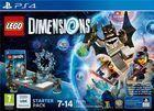Portada oficial de de LEGO Dimensions para PS4