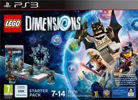Portada oficial de LEGO Dimensions para PS3