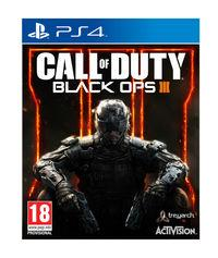 Portada oficial de Call of Duty: Black Ops III para PS4