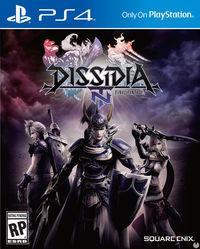 Portada oficial de Dissidia Final Fantasy NT para PS4