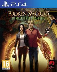 Portada oficial de Broken Sword 5: La maldición de la serpiente para PS4