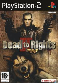 Portada oficial de Dead to Rights 2 para PS2