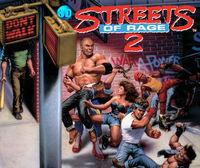 Portada oficial de 3D Streets of Rage II eShop para Nintendo 3DS