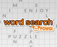 Portada oficial de Word Search by POWGI eShop para Nintendo 3DS