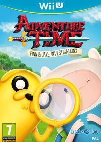 Portada oficial de Hora de Aventuras: Finn y Jake, Investigadores para Wii U