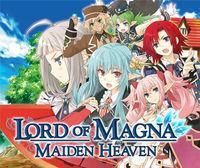 Portada oficial de Lord of Magna: Maiden Heaven eShop para Nintendo 3DS