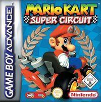 Portada oficial de Mario Kart Super Circuit CV para Wii U