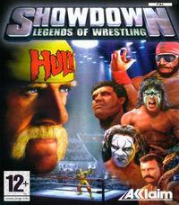 Portada oficial de Legends of Wrestling: Showdown para PS2