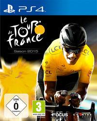Portada oficial de Le Tour de France 2015 para PS4