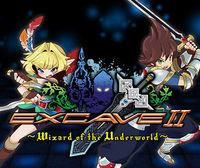 Portada oficial de Excave II : Wizard of the Underworld eShop para Nintendo 3DS