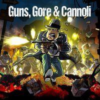 Portada oficial de Guns, Gore & Cannoli para PS4