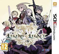 Portada oficial de The Legend of Legacy para Nintendo 3DS