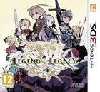 Portada oficial de de The Legend of Legacy para Nintendo 3DS