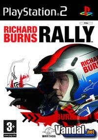 Portada oficial de Richard Burns Rally para PS2