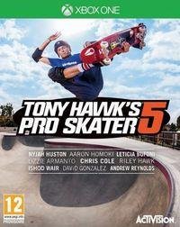 Portada oficial de Tony Hawk's Pro Skater 5 para Xbox One