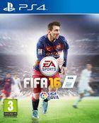 Portada oficial de de FIFA 16 para PS4