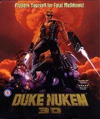 Portada oficial de Duke Nukem 3D para PC