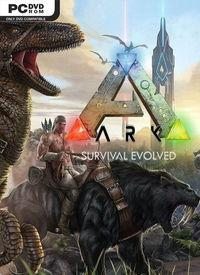 Portada oficial de ARK: Survival Evolved para PC