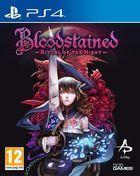 Portada oficial de de Bloodstained: Ritual of the Night para PS4