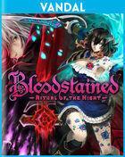 Portada oficial de de Bloodstained: Ritual of the Night para PSVITA
