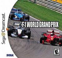 Portada oficial de F1 World Grand Prix para Dreamcast