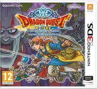 Portada oficial de Dragon Quest VIII: El Periplo del Rey Maldito para Nintendo 3DS