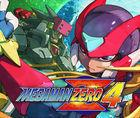 Portada oficial de de Mega Man Zero 4 CV para Wii U