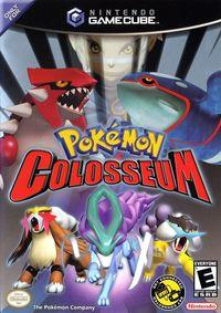 Portada oficial de Pokémon Colosseum para GameCube