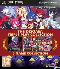 Portada oficial de Disgaea Triple Collection para PS3