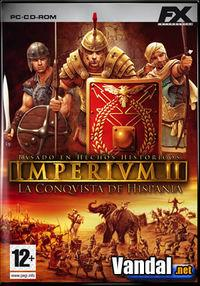 Portada oficial de Imperivm II: La Conquista de Hispania para PC
