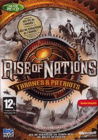 Portada oficial de Rise of Nations: Thrones and Patriots para PC