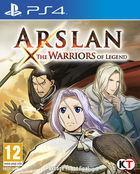 Portada oficial de de Arslan: the Warriors of Legend para PS4