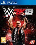 Portada oficial de de WWE 2K16 para PS4