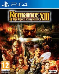 Portada oficial de Romance of the Three Kingdoms XIII para PS4
