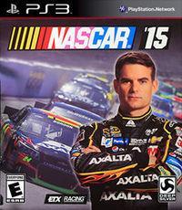 Portada oficial de NASCAR '15 para PS3