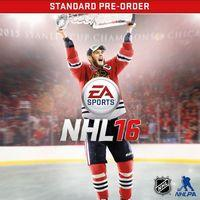 Portada oficial de NHL 16 para PS4
