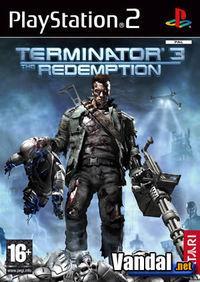 Portada oficial de Terminator 3: Redemption para PS2