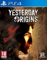 Portada oficial de Yesterday Origins para PS4