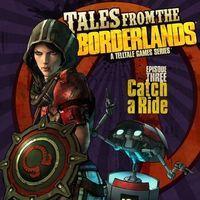 Portada oficial de Tales from the Borderlands - Episode 3: Catch a Ride para PS4