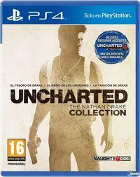 Portada oficial de Uncharted: The Nathan Drake Collection para PS4