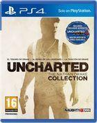 Portada oficial de de Uncharted: The Nathan Drake Collection para PS4