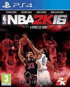 Portada oficial de de NBA 2K16 para PS4