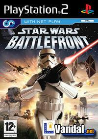 Portada oficial de Star Wars: Battlefront (2004) para PS2