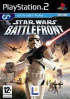 Portada oficial de de Star Wars: Battlefront (2004) para PS2