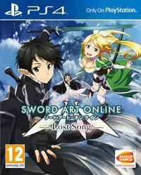 Portada oficial de Sword Art Online: Lost Song para PS4