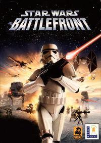 Portada oficial de Star Wars: Battlefront (2004) para PC