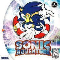 Portada oficial de Sonic Adventure para Dreamcast