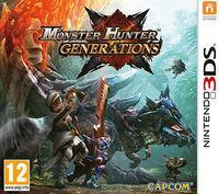 Portada oficial de Monster Hunter Generations para Nintendo 3DS