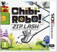 Portada oficial de Chibi-Robo! Zip Lash para Nintendo 3DS