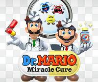Portada oficial de Dr. Mario: Miracle Cure eShop para Nintendo 3DS